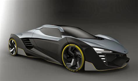 ak design hyperion hybrid sport car