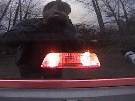 how to replace the center rear high mount brake light