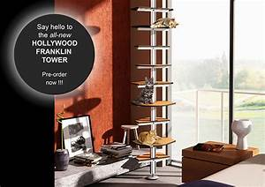New Hollywood Franklin Cat Tower Uses Ikea Elvarli System
