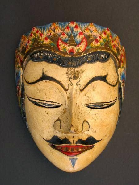 kumpulan gambar topeng tradisional gambar topeng seni budaya indonesia animasi terbaik