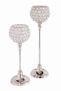 Teelichthalter Glas Mit Stiel : home affaire teelichthalter kristall set 2 st ck ~ A.2002-acura-tl-radio.info Haus und Dekorationen
