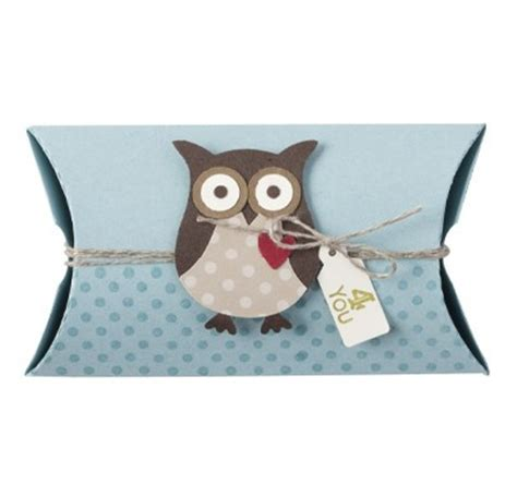 How To Make Owl Pillow Boxes For Your Kids