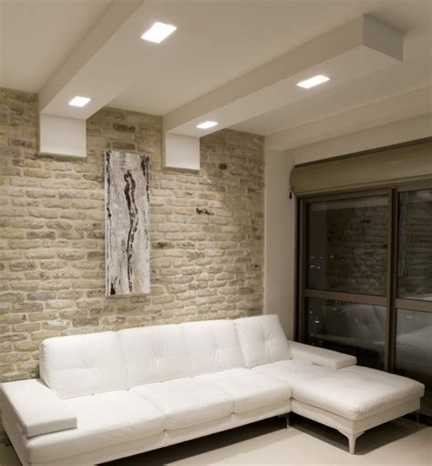 canap et fauteuils faux plafond moderne dans la chambre à coucher et le salon