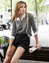 Outfits with Suspenders for Women