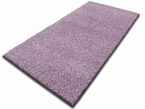 Teppich Läufer Lila : hochflor teppich lila hergestellt in deutschland ~ Markanthonyermac.com Haus und Dekorationen