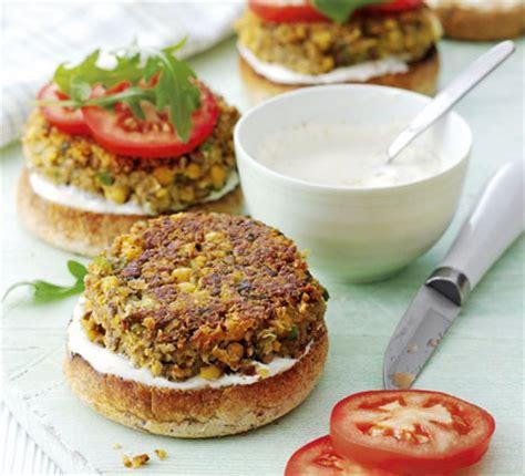 mushroom chickpea burgers bbc good food