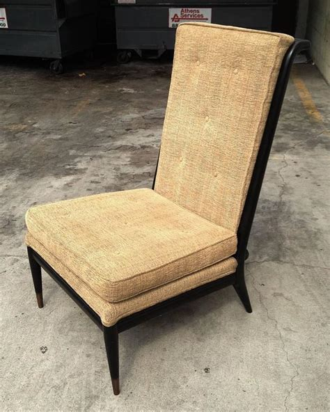high back slipper chair by widdicomb for sale at 1stdibs