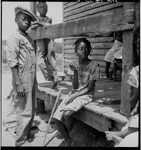 Children In The Mississippi Delta, Circa 1930s Dorothea