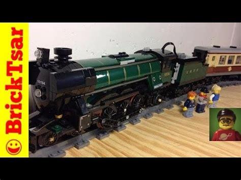 lego train  emerald night steam locomotive