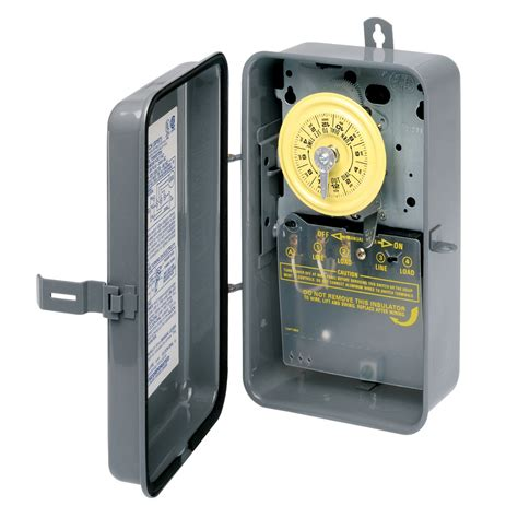 shop intermatic 40 amp 1 outlet mechanical residential