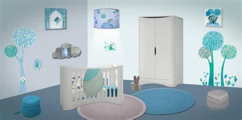 theme chambre bébé garçon decoration chambre bebe theme nuage