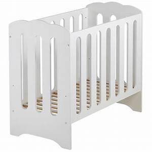 Lit Petit Espace : interesting mini lit et matelas bb nuage blanc x cm domiva ~ Premium-room.com Idées de Décoration