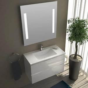 Meuble Salle De Bain Promo : pack promo meuble salle de bain 80x40 cm milo ~ Dode.kayakingforconservation.com Idées de Décoration