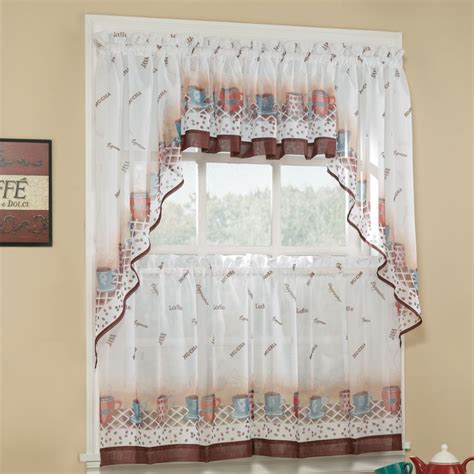 curtain cute interior home decorating ideas with cafe