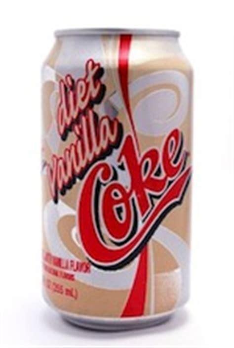 caffeine  diet vanilla coke