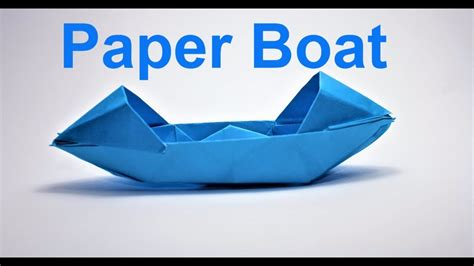 How To Make A Paper Boat That Floats And Holds Weight Step By Step by How To Make A Paper Boat That Floats In Water Easy