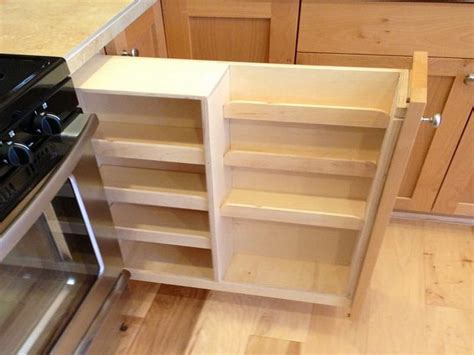 Cabinet Spice Rack Pull Out - cabinet shelving cabinet pull out spice rack