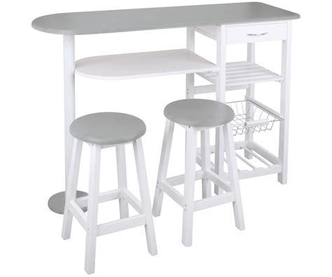 table de cuisine bar ensemble cuisine table bar idéal studio avec deux