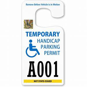 handicap parking permits With disabled parking template