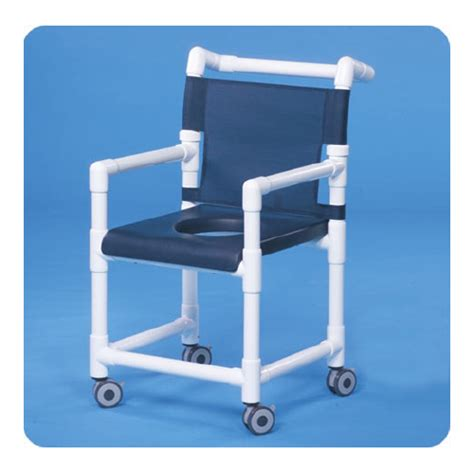 bettymills shower chair fixed arms pvc mesh backrest 41