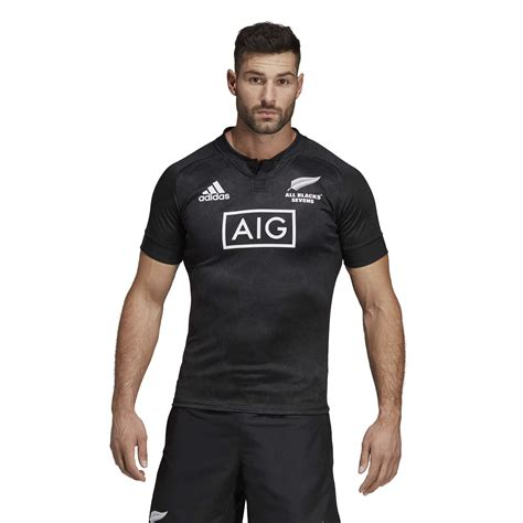maillot rugby  blacks  domicile  adidas