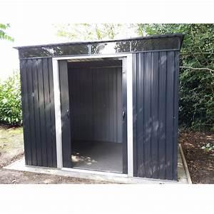 Abri De Jardin Monopente : abri en m tal anthracite avec puits de lumi re skylight 4 ~ Dailycaller-alerts.com Idées de Décoration