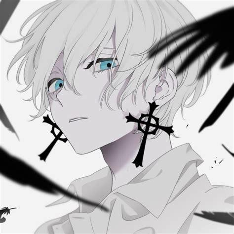 Anime Pfp White Hair Aesthetic Anime Boy White Hair Page