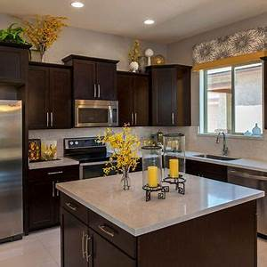 25 best ideas about yellow kitchen decor on pinterest With kitchen colors with white cabinets with projector wall art