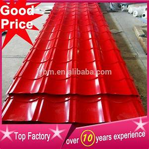 With color steel roofing price list