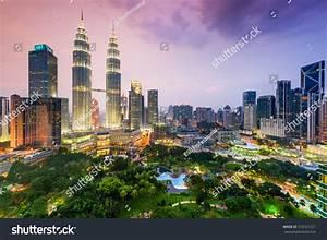 Kuala Lumpur, Malaysia City Skyline. Stock Photo 318161321 ...