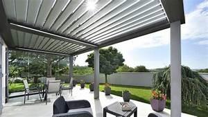 terrasse couverte toutes les solutions d39amenagement With toit en verre maison 2 amenagement exterieurs pergolas