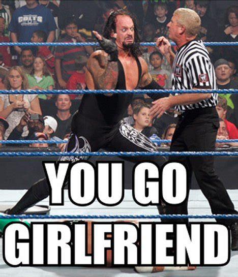 Gay Wrestling Meme - you go girlfriend