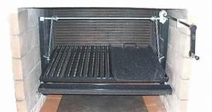 Grille Barbecue Sur Mesure : kits de grilles sur mesure pour barbecue argentin manivelle ~ Dailycaller-alerts.com Idées de Décoration
