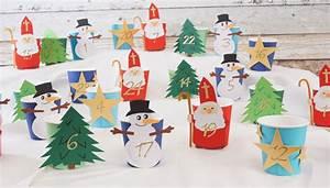 Adventskalender Kinder Basteln : kaffeebecher adventskalender mit tonpapier figuren basteln ~ Eleganceandgraceweddings.com Haus und Dekorationen