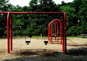 The Empty Playground Digital Art by Mike McCool