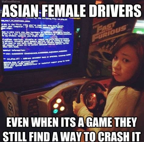 Meme Driver - lol meme haha 2014 asian female drivers jpg