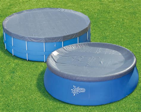 Summer Escapes Pvc 15 Ft. Frame Pool Or 16 Ft. Ring Pool Cover