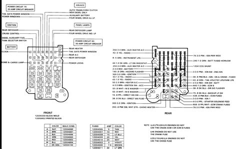 1992 Chevy Suburban Fuse Box Diagram by Wrg 8538 1988 Chevy S10 Fuse Block Diagram