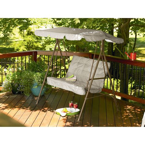 garden oasis 2 seat swing canopy outdoor living