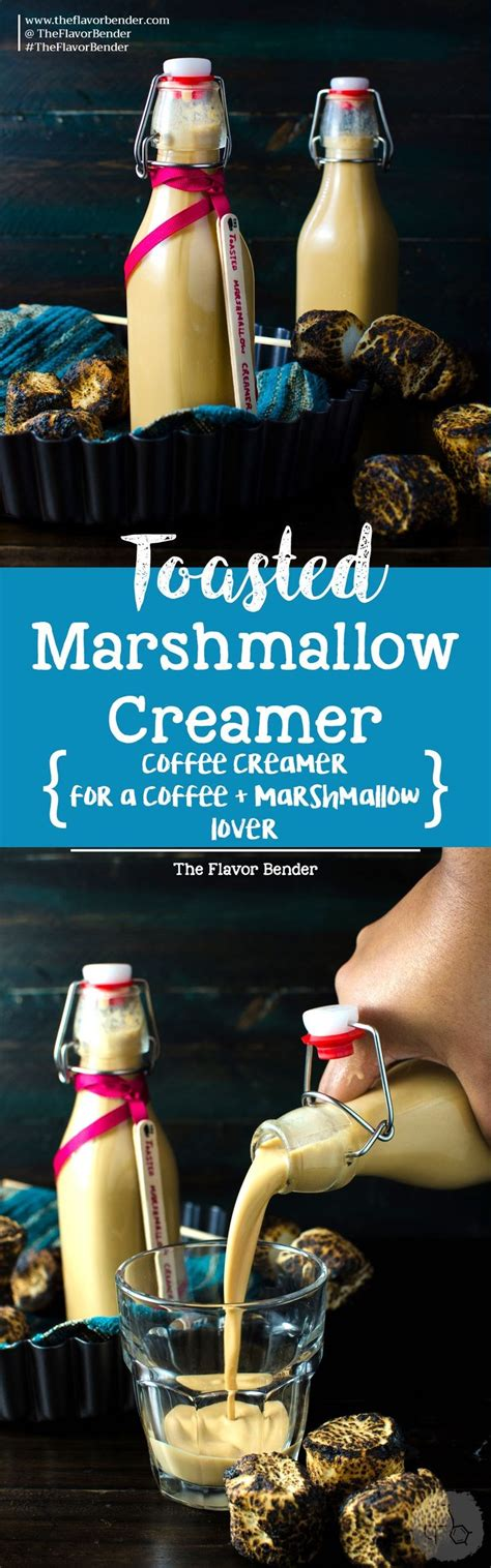 If you like the sugary, puffy things, then definitely give this recipe a try! Homemade Toasted Marshmallow Creamer - A delicious ...