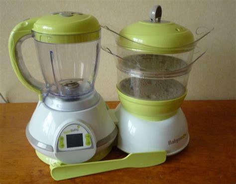 appareil pour faire petit pot bebe banc d essai le nutribaby de babymoov