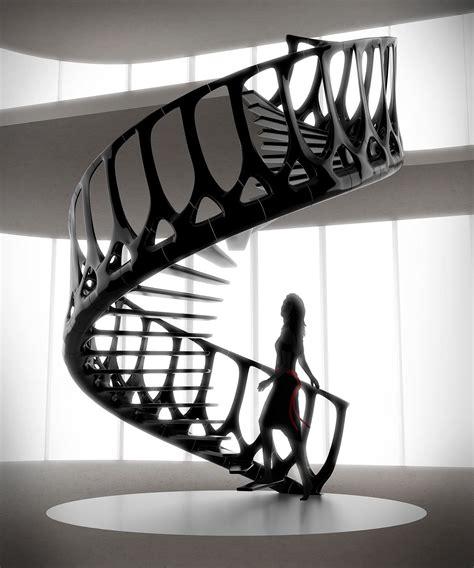 Vertebrae Treppe Andrew Mcconnell by εσωτερική σκάλα Vertebrae του Andrew Mcconnell