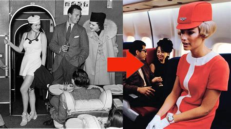 Flight Attendant Uniforms of Past 85 Years to Now - YouTube