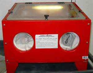 central pneumatic abrasive sand blast cabinet and light ebay