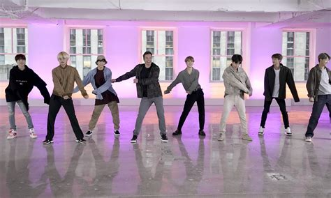 bts and jimmy fallon try the fortnite dance challenge time