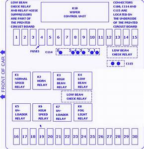 Bmw 633csi Fuse Box Diagram