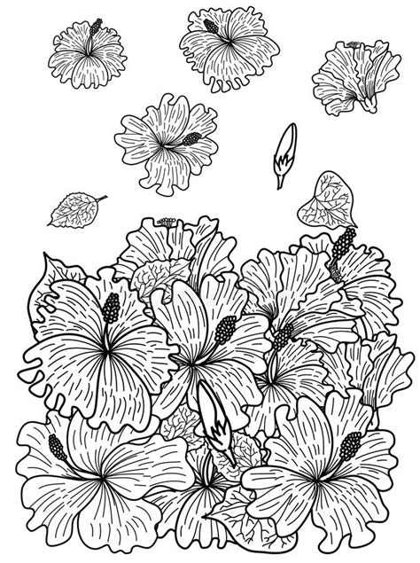 Sakura For Printing On Red BackIdea For Tattoo And