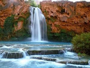 Havasu, Falls, Arizona, Wallpaper, Wallpapers13, Com