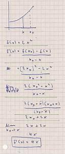 1 Ableitung Berechnen : h methode tangentensteigung mit der h methode berechnen ~ Themetempest.com Abrechnung
