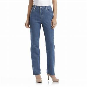 Gloria Vanderbilt Women's Amanda Fit Straight Leg Jeans ...